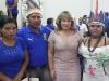 La vicegobernadora Paula Terrazas junto a un legislador y dos legisladoras indigenas de los pueblos Machineri-Yaminahua, Cavineño y Tacana. | Foto GDP
