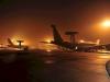 Aviones E-3A de la flota AWAC de la OTAN