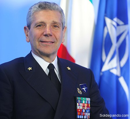 Giampaolo di Paola, Estado Mayor de Italia en la OTAN