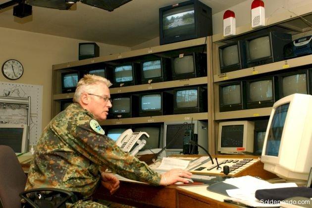 Base terrestre de recepción y procesamiento de datos.