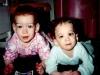 1997: Carly de un año y Brooke de cuatro.