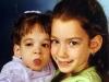2002: Brooke de nueve años y Carly de seis.