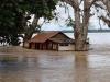Cachuela Esperanza se inunda irremediablemente con las aguas del Mamoré y el desastre continúa avanzando hacia los municipios del Iténez y Guaporé, en ambos lados de la frontera. | Foto ©Vincent Voss
