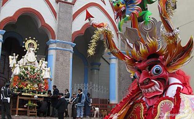 La Diablada de Puno tiene matices de origen y diferencias estéticas respecto a la Diablada de Oruro.   Foto archivo