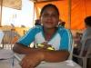 Mireya Curupi de la comunidad Limón