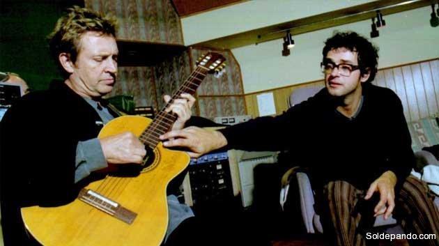 Gustavo Cerati grabó en Los Angeles con Andy Summer  para un disco homenaje a The Police. El ex guitarrista del trío inglés elogió los arreglos hechos por el argentino, quien dijo que The Police influyó a Soda Stereo.   Foto Clarín