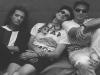 Charly Alberti el baterista, Gustavo Cerati voz y guitarra, Héctor Zeta Bosio el bajista. Soda Stereo surgió en 1984. | Foto Archivo