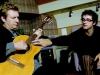 Gustavo Cerati grabó en Los Angeles con Andy Summer  para un disco homenaje a The Police. El ex guitarrista del trío inglés elogió los arreglos hechos por el argentino, quien dijo que The Police influyó a Soda Stereo. | Foto Clarín