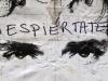 Un afiche con la imagen de Gustavo Cerati frente a la clínica donde se encontraba hospitalizado en Buenos Aires, Argentina. | Foto Natacha Pisarenko
