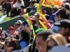 El apoyo del público boliviano estimuló al equipo nacional. | Foto Alejandro Álvarez