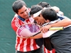 Paraguay celebra su ascenso al grupo II. | Foto Alejandro Álvarez
