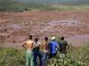 La localidad de Bento Rodrigues, en el municipio de Mariana, cerca a la ciudad de Belo Horizonte, capital del Estado de Minas Gerais, ha quedado completamente inundada por el barro tóxico de una mina de hierro cuyo embalse de desechos colapsó.   Foto Reuters