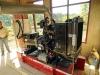 La electrificaciòn de Alto Bahía demandó una inversión de Bs 579. 342. El proyecto consta de una red de baja tensión con 1.470 metros de cable cuádruplex; provisión, plantado y alineado de 35 postes de concreto y un generador trifásico de 66 kilovatios. | Foto Prensa GADP