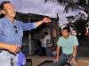 A través de su presidente Oscar Soliz Menacho, la comunidad de Villa mabari hizo saber al Gobernador sus necesidades habitacionales.   Foto Prensa GADP