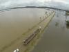 La autopista BR-364 que vincula los estados de Acre y Rondônia colapsó, totalmente cubierta por las aguas desbordadas del río Madeira. | Foto ©Josenir Melo | Agência de Notícias do Acre | Sol de Pando
