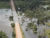 La autopista BR-364 que vincula los estados de Acre y Rondônia colapsó, totalmente cubierta por las aguas desbordadas del río Madeira. | Foto ©Sérgio Vale | Agência de Notícias do Acre | Sol de Pando