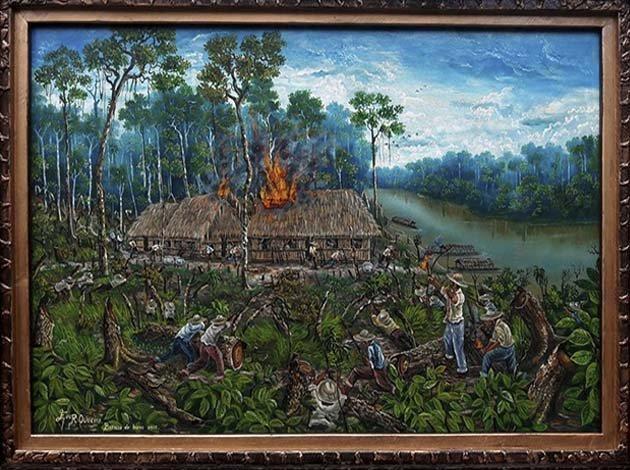 GALERÍA | Título: La Batalla de Bahía 1902