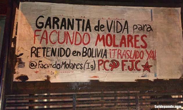 GALERÍA   Pintadas solidarias para Facundo