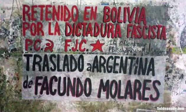 GALERÍA | Pintadas solidarias para Facundo