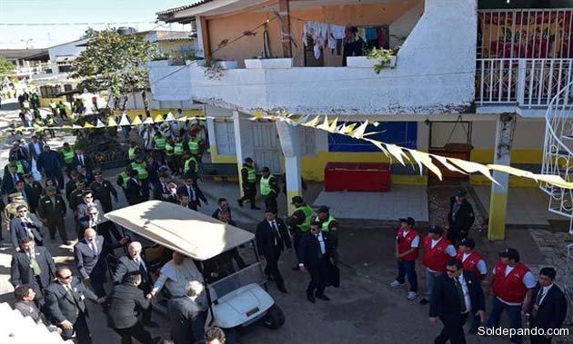 La cárcel de Palmasola recibió el mensaje de libertad y dignidad del Papa. | Foto EFE