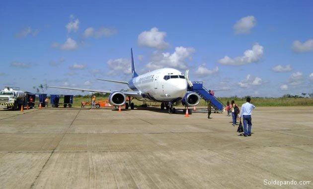 La antigua pista de aterrizaje tenía una extensión de sólo 1.600 metros, impropìa para un aeropuerto internacional. | Foto archivo