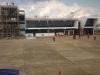 El edifico de la nueva terminal ya fue habilitado mientras se terminaba de construir la torre de control. | Foto archivo
