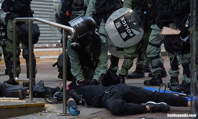 GALERÍA | Las barricadas de Hong Kong