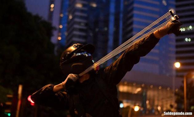 GALERÍA   Las barricadas de Hong Kong