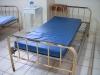 Una sala de internación con las camas descompuestas. | Foto Silvia Antelo Aguilar, 2010