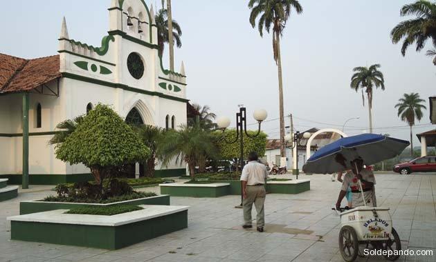 GALERÍA | Visitando la Catedral Mariana de Cobija