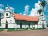 La ampliación realizada en 1977 con una nueva nave conectada a una esquina de la Plaza Principal de Cobija. | Foto Archivo Sol de Pando