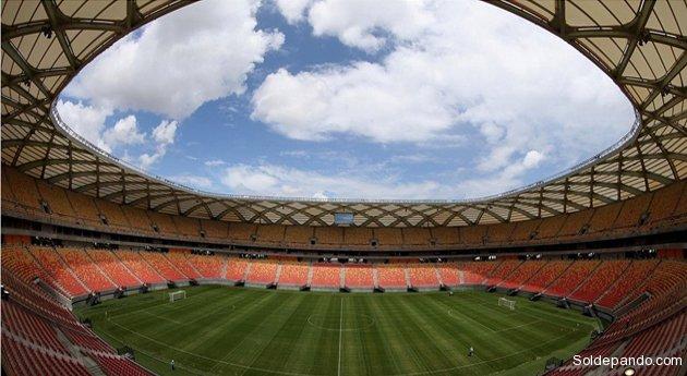 El Arena da Amazônia ya está listo para los partidos del Mundial 2014. | Foto ©FifaP