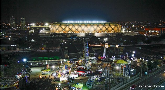 El Arena da Amazônia ya está listo para los partidos del Mundial 2014. | Foto ©AFP