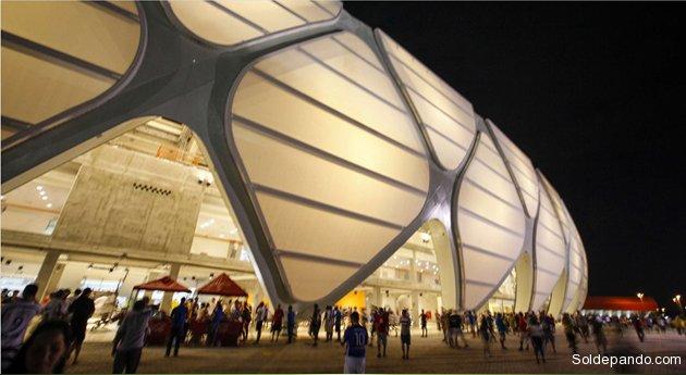 Inauguracion Arena do Amazonia