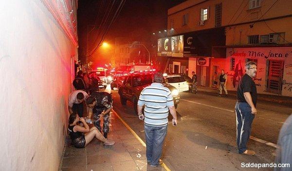 Tragedia en el Brasil