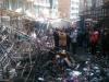 El incendio que se produjo a las dos de la madrugada del año nuevo causó cuantiosas pérdidas materiales. | Foto Erbol