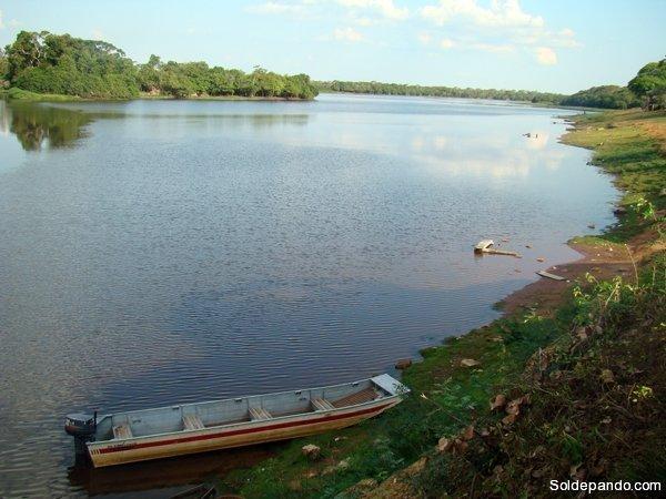 GALERÍA | El rio Iténez en la frontera con Brasil