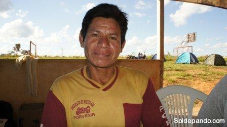Nelson Palacios de la comunidad Espíritu II