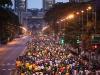 CARACAS - FEBRERO 24, 2013: Mas de 8.000 corredores de 32 nacionalidades y 24 elites, participan en la tercera edición del Maraton CAF Caracas 2013.  La competencia se hará en 42k y 21K.  (Ivan Gonzalez / CAF)