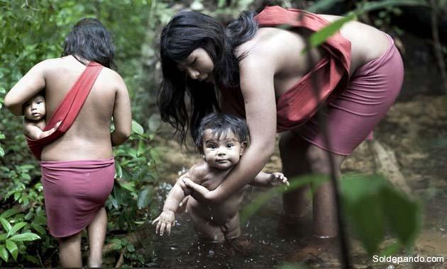 Maternidad en la Amazonia