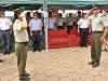 El coronel Juan Carlos Arauco es el nuevo Comandante Departamental de la Policía de Pando; fue presentado por el gobernador Luis Adolfo Flores Roberts durante un acto de relevo al cual dio paso el Comandante antecesor, coronel Jhonny Marcelo Ortuño Andia.   Foto Prensa GADP
