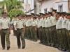 El coronel Juan Carlos Arauco es el nuevo Comandante Departamental de la Policía de Pando; fue presentado por el gobernador Luis Adolfo Flores Roberts durante un acto de relevo al cual dio paso el Comandante antecesor, coronel Jhonny Marcelo Ortuño Andia. | Foto Prensa GADP