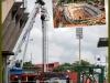 Obrero muere construyendo estadio de Manaos mientras operaba una grúa. Es el tercer fallecido durante la construcción del Arena do Amâzonia.