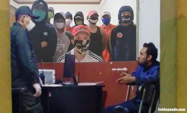 GALERÍA | Edgar Ozuna preso en Quillacollo