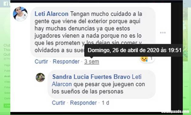 GALERÍA | El Facebook  de la estafa