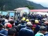 Los trabajadores de la Hidroeléctrica San José, en el municipio de Colomi, también se movilizaron contra los abusos de Sinohydro. | Foto Los Tiempos