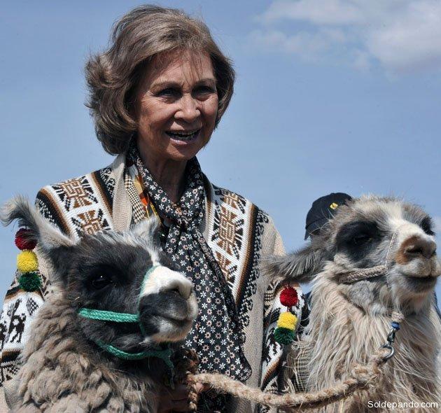 BOLIVIA-SPAIN-ROYALTY-QUEEN SOFIA