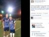 Quintana y el ex arquero de la selección nacional Leo Fernández, los más allegados a Zapata. | Foto Facebook