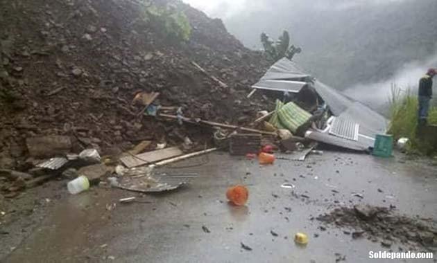El derrumbe de Caranavi