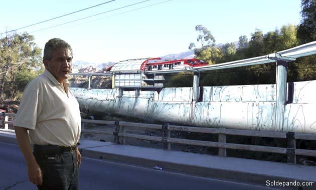 Tren Kanata rio Rocha